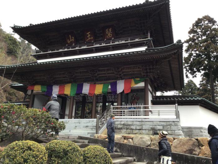 大窪寺の仁王門