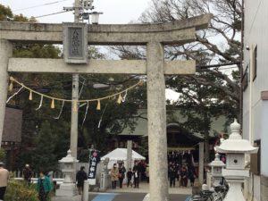 初詣と新年の抱負
